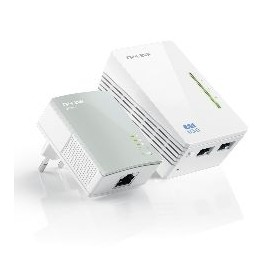PACK 1 ADAPTADOR DE RED WIFI +1 NORMAL 500MBPS LINEA ELECTRICA POWER LINE TP-LINK - Inside-Pc