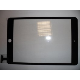 REPUESTO PANTALLA TACTIL APPLE IPAD MINI NEGRO (SIN CONECTOR IC) - Inside-Pc