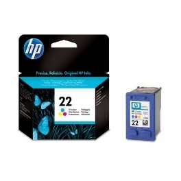 CARTUCHO TINTA HP 22 C9352AE TRICOLOR 5ML 3920/ 3940/ PS1410 - Inside-Pc
