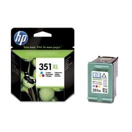 CARTUCHO TINTA HP 351XL CB338EE TRICOLOR 14ML J5700/ C5200/ C4300 - Inside-Pc