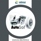 SOFTWARE AUTOSOF LICENCIA ELECTRO GESTION TALLERES marca SOLINSUR - Inside-Pc
