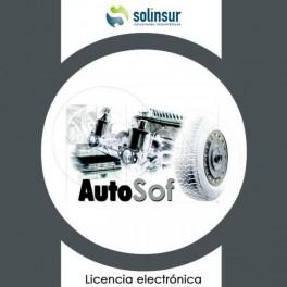 SOFTWARE AUTOSOF LICENCIA ADICIONAL marca SOLINSUR - Inside-Pc