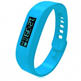 Reloj Pulsera Inteligente Trainer Azul - Inside-Pc