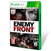 JUEGO X360 - ENEMY FRONT EDICION LIMITADA SEMINUEVO - Inside-Pc