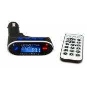 Reproductor MP3 USB/MicroSD + Transmisor FM Coche - Inside-Pc