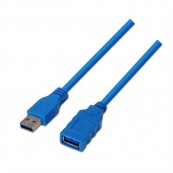CABLE USB 3.0 A-M - A-H 1.0MTS AZUL NANOCABLE - Inside-Pc