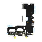 Flex Conector Carga Lightning Iphone 7 Negro - Inside-Pc