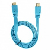 Cable Plano Ultra HDMI 4K 1.5m Azul Biwond - Inside-Pc