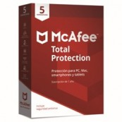ANTIVIRUS MCAFEE TOTAL PROTECTION 2018 5 DISPOSITIVOS - Inside-Pc