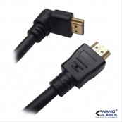 CABLE HDMI ACODADO V1.4 NANOCABLE - Inside-Pc
