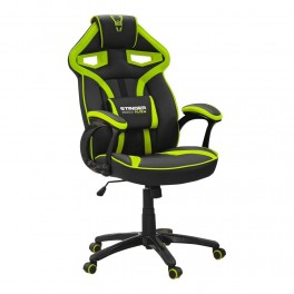 SILLA GAMER WOXTER STINGER ALIEN VERDE - Inside-Pc