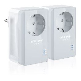 PACK X2 ADAPTADORES DE RED LINEA ELECTRICA 500MBPS POWER LINE TP-LINK