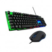 TECLADO + RATON THE G-LAB GAMING COMBO ZINC - Inside-Pc