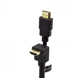 CABLE HDMI 2.0 PHOENIX CONECTOR CODO - 1M - Inside-Pc