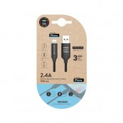CABLE MICRO-USB TECH ONE PARA APPLE 1M - Inside-Pc