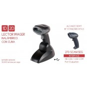 Lector Codigo Barras IMAGER SEYPOS PRO-CODE 2D BT WIRELESS - Inside-Pc