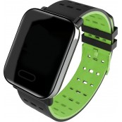 Smartwatch A6 Bluetooth Pulsometro Verde - Inside-Pc
