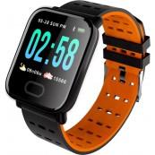 Smartwatch A6 Bluetooth Pulsómetro Naranja - Inside-Pc