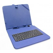 "Funda Tablet Teclado 9.7"" Biwond Azul - Inside-Pc"