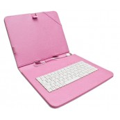 "Funda Tablet Teclado 9.7"" Biwond Rosa - Inside-Pc"
