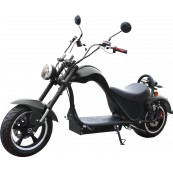 Electric Motorbike CityCoco Cobra 49e Homologated 2000W - 24AH Black Double Battery - Inside-Pc