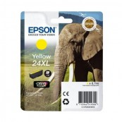 CARTUCHO TINTA EPSON 24XL 8.7ML AMARILLO - ELEFANTE - Inside-Pc