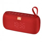 Altavoz Bluetooth COOLSOUND Clock 10W Rojo - Inside-Pc