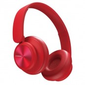 Auriculares Bluetooth XO B24 CD Desing Rojos - Inside-Pc