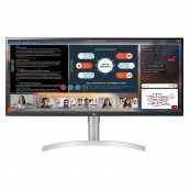 "MONITOR LED 34"" LG 34WN650-W - IPS - 5MS - HDMI - DP - ALTAVOCES - Inside-Pc"