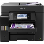 IMPRESORA MULTIFUNCION EPSON ECOTANK ET-5850 FAX - A4 - 25PPM - USB - ETHERNET - WIFI - DUPLEX TOTAL - ADF - Inside-Pc