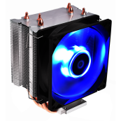 Disipador CPU Multisocket COOLBOX DEEP TWISTER III GAMING LED AZUL - Inside-Pc