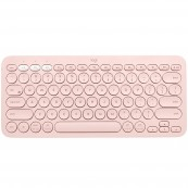 TECLADO Bluetooth LOGITECH K380 MULTI-DEVICE ROSA - Inside-Pc