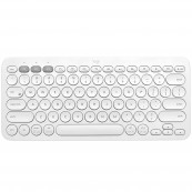 TECLADO Bluetooth LOGITECH K380 MULTI-DEVICE BLANCO - Inside-Pc
