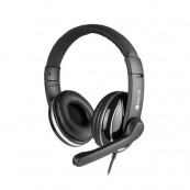 Auriculares con Microfono NGS Vox 800 - USB - Negros - Inside-Pc