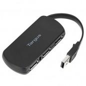HUB USB TARGUS 4 PUERTOS Negro - Inside-Pc
