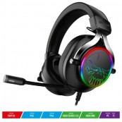 Auriculares Gaming con Microfono SoG XPERT H600 - Jack 3.5 - USB2.0 - Gris Oscuro - Inside-Pc