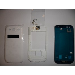 REPUESTO HOUSING COMPLETO SAMSUNG GALAXY S3 I9300 BLANCO - Inside-Pc