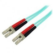 CABLE FIBRA OPTICA DUPLEX MULTIMODO OM3 50/125 LC/LC LIBRE DE HALOGENOS 20M - Inside-Pc