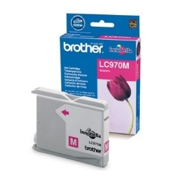 CARTUCHO TINTA BROTHER LC970M MAGENTA 300 PAGINAS DCP-135C/ DCP-150C/ MFC-235C/ MFC-260C  - Inside-Pc