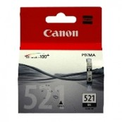 CARTUCHO TINTA CANON CLI 521BK NEGRO 9ML PIXMA 3600/ 4600/ 4700/ MP540/ 550/ 560/ 620/ 630/ 640/ 980/ MX860/ 870 - Inside-Pc