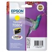 EPSON INK CARTRIDGE T0804 YELLOW 7.4ML STYLUS PHOTO R265 / 285/360 / RX560 / 585/685 - Inside-Pc