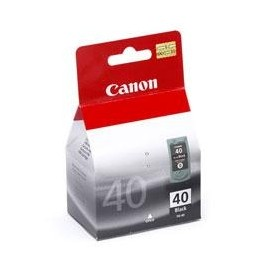 CARTUCHO TINTA CANON PG 40 NEGRO 16ML PIXMA 1600/ 2200/ 2600/ MP150/ 170/ 190/ 450/ PG40 - Inside-Pc