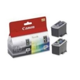 MULTIPACK CANON PG-40/ CL-41 IP1200/ IP1300/ IP2500/ MP160/ MP220/ MP450/ MP460/ MX300 BLISTER - Inside-Pc