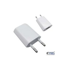 CARGADOR USB PARA IPOD/IPHONE NANOCABLE MINI - Inside-Pc