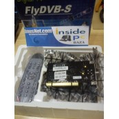 Liquidacion SINTONIZADOR PCI TV SATELITE FLY DVB-S - Inside-Pc