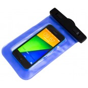 Bolsa impermeable azul Smartphone - Inside-Pc