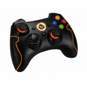 GAMEPAD NOX KHENSU Ordenador PS3 NEGRO/NARANJA - Inside-Pc