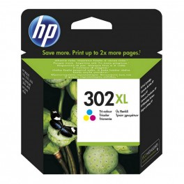 CARTUCHO HP 302XL COLOR (CIAN MAGENTA AMARILLO marca HP - Inside-Pc