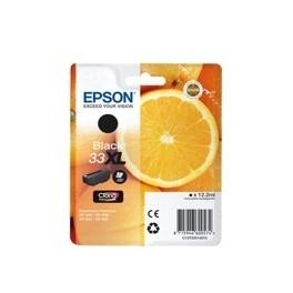 CARTUCHO EPSON T333140 XL NEGRO XP350*XP630/XP635/XP830 - Inside-Pc