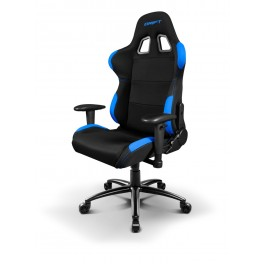 SILLA GAMING DRIFT DR100 NEGRO-AZUL - Inside-Pc